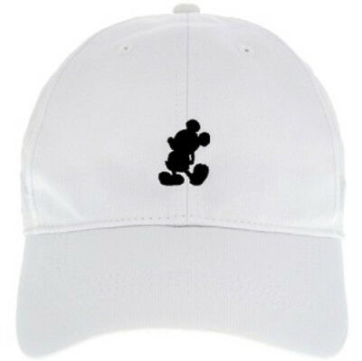 Disney Parks Mickey Mouse Icon Character Nike Golf  Cap Hat Legacy 91 WHITE