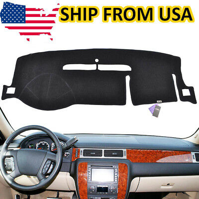 Fit For Chevrolet Tahoe Suburban 2007-2013 Dash Mat Dashmat Dashboard Cover