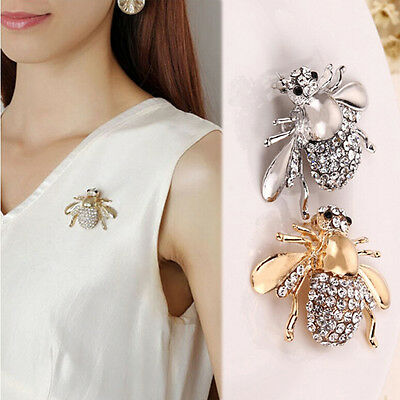 1/2pc Fantastic pin chic strass broche animal broches cute Bee broches broches