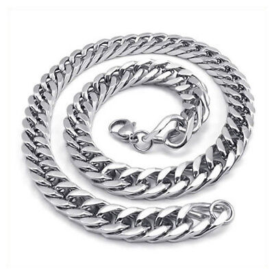 Jewelry Men's necklace, Stainless steel large gravity king motorcycle chain S6O3