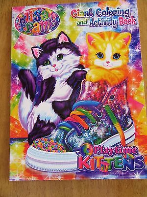 Lisa Frank NEW Giant Coloring & Activity Paperback Playful Kittens