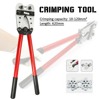 Y.O Terminal 8-4/0 Crimping Tool 10-120mm² Cable Battery Rotatable Lug Crimper