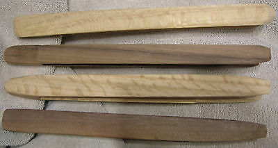 Oak, Walnut Or Cherry Wood / Wooden Toast / Bagel Tong (1 Each)  Hand Made Usa B