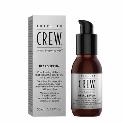 American Crew Beard Serum 50ml Moustache & Beard Oil Male Grooming