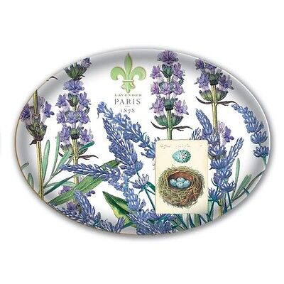 Michel Design Works -lavender ROMERO CRISTAL Soap Dish