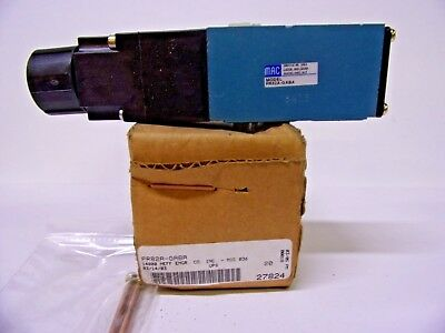 NEW IN BOX MAC PR82A-GABA PNEUMATIC Solenoid Valve