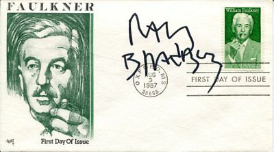 Ray Bradbury Fahrenheit 451 Martian Chronicles Author Signed Autograph FDC