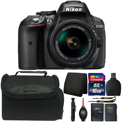 Nikon D5300 DSLR Camera with 18-55mm Lens and Ultimate Accessory Bundle