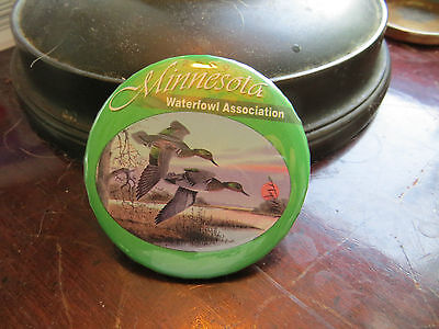 2000 Minnesota Waterfowl Association button, advertising, club, ducks