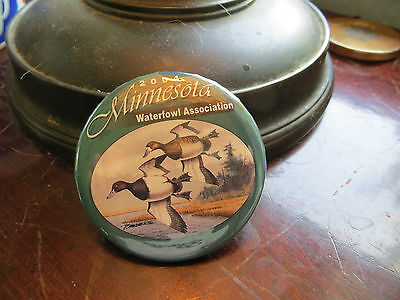 2004 Minnesota Waterfowl Association button, advertising, club, ducks