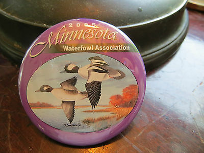 2005 Minnesota Waterfowl Association button, advertising, club, ducks
