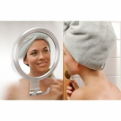 """M-Better Fogless Countertop Vanity Mirrors Mirror With Razor Hook Free Strong 5"""""""