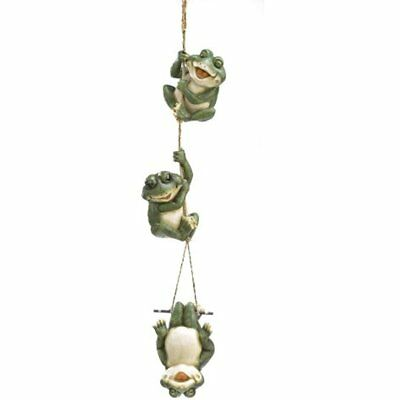 Frolicking Frogs Kitchen & Dining Features Hanging Garden Sculpture Decorative