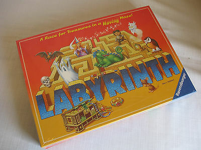 NIB Sealed 2007 Ravensburger Labyrinth Board Game Complete NEW IN BOX Unplayed