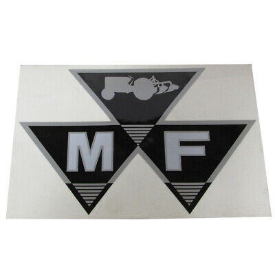 """Massey Ferguson Tractor 6"""" Triple Triangle Decal Large 79024561V"""