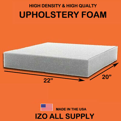 IZO Home Good High Density Upholstery Foam Seat Cushion - 20x22 *Free Shipping*