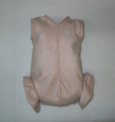 """Doe Suede Body for 22-24"""" Dolls Full Unjointed Arms Full Jointed Legs #515"""