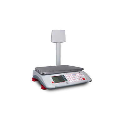 Ohaus A71P30DTNUS Aviator 7000 30 lb Advanced Retail Scale with Tower