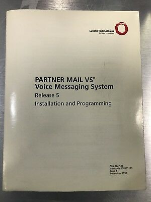 Partner Mail VS Voice Messaging System