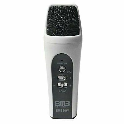EMB EMB20W Handheld Multi-function Condenser Microphone Iphone/iPad/Android