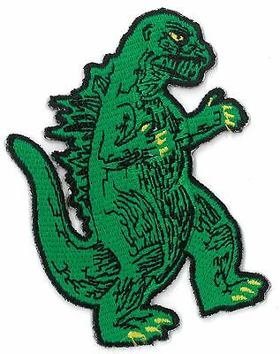 Godzilla iron on/sew on embroidered Patch Applique DIY (US Seller)