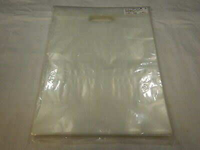 """1000 count - Clear Plastic Bags Shopping Merchandise Retail Gift 12 x 15"""" EJ"""