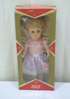 Vintage Jolly Toys The Little People's Choice A Jolly Doll #324 In Box NOS