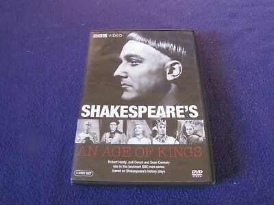 Shakespeare's - An Age of Kings : BBC Video 5-Disc DvD Set Like New