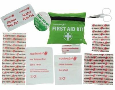 New 23 Piece First Aid Emergency Kit Car Bike Home Medical Camping Office Travel