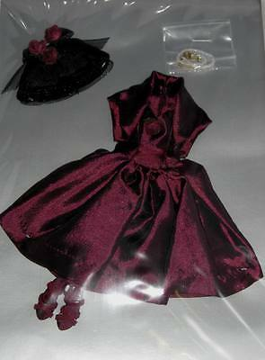 """Wine & Roses Tiny Kitty outfit Tonner MIP* fit 10"""" Simone Rouge doll 2014 Creasd"""