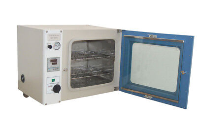 "1.9Cu Ft Vacuum Drying Oven uP to 250°C Size 16x14x14"" for Lab CA Seller"