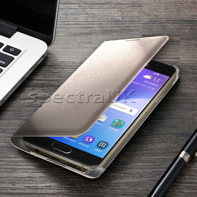 Slim Luxury Leather Phone Card Holder Wallet Flip Case Cover for Samsung Galaxy