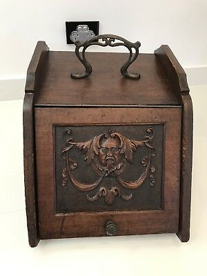 Antique Coal Box