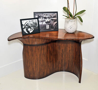 New Theodore Alexander Modern Classic Rosewood Table designed by Keno Brothers
