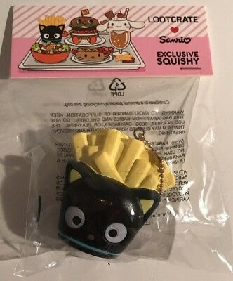 Sanrio Loot Crate TASTY Collection - Chococat Squishy - September/October 2017