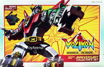 Voltron - 30th Anniversary Collector's Set Toynami NEW RRP $499.95