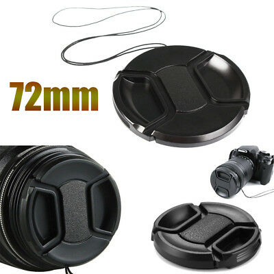 72 mm Plastic Snap On Front Lens Cap Cover for Canon Nikon  Sony  DSLR camera