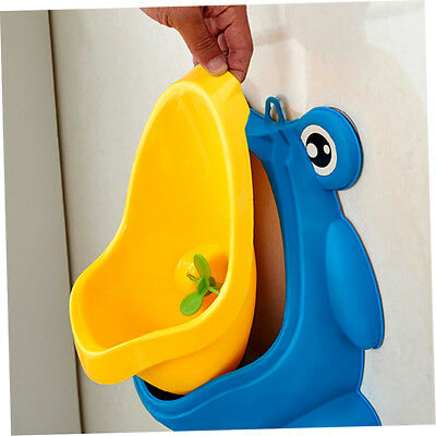 Frog Boy Kids Baby Toilet Training Children Potty Pee Urine Home Bathroom EC