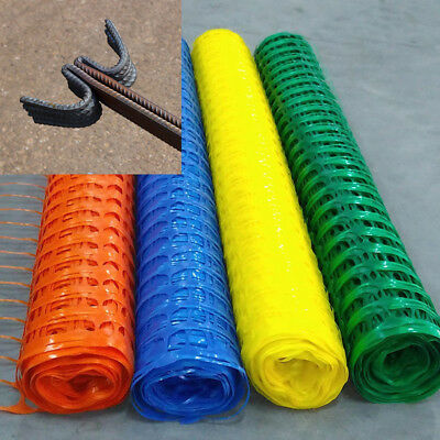 Heavy Duty  plastic mesh barrier safety fence & metal steel fencing pins