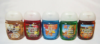 💚  Bath and Body Works PocketBac Sanitizers 5-er Pack Bright Leaves & Blue   💚
