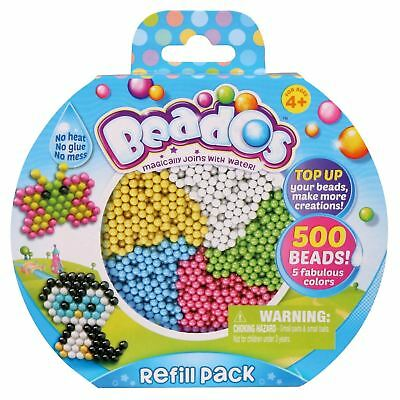 Beados 500 Beads Refill Pack Art Pack Set Kids Toy New Sealed
