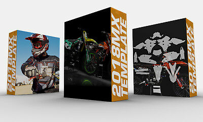 Vector MX Template 2018 - Complete collection/ / YAMAHA-SHERCO-SUZUKI-HUSQVARNA.
