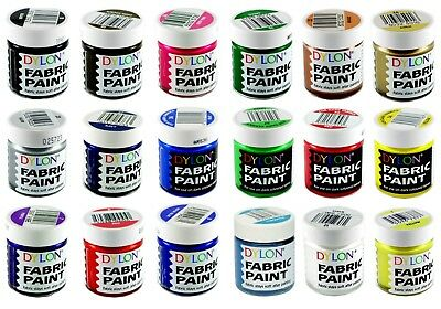 Dylon Fabric Paints Pot - Full Range of Colours Available!