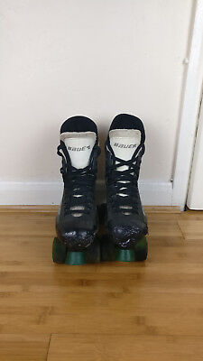 Bauer Turbo Roller Skates - Quad Playmaker Size 5 Black