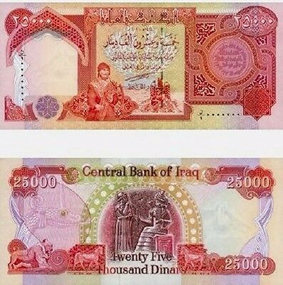 Iraqi Dinar Note/Currency Collection 100K Total Dinar Uncirculated