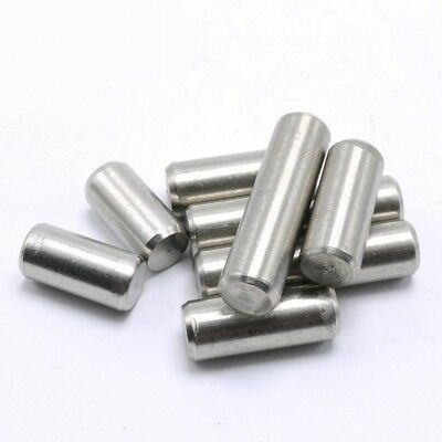 M1.5 M2 M2.5 Metric Stainless Steel Dowel Pins or Locating and Retaining Pins
