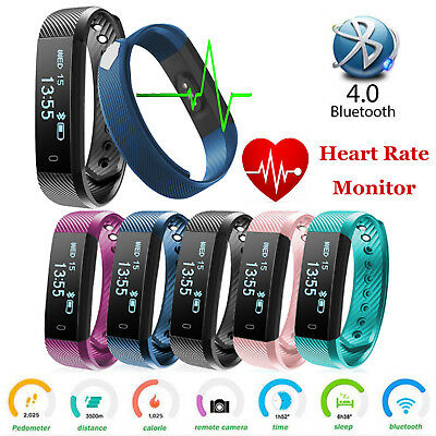 Waterproof Activity Tracker for Kids Men Women Heart Rate Fitness Monitor Watch