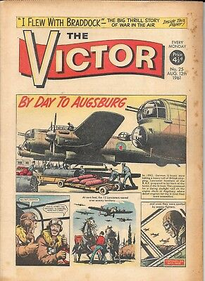 The Victor 25 (Aug 12, 1961) almost high grade copy