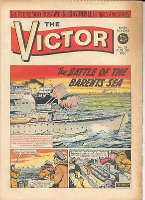 The Victor 24 (Aug 5, 1961) very high grade copy
