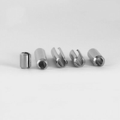 M3 M4 A2 Stainless Steel Slotted Spring Tension Pins Sellock Roll Pins